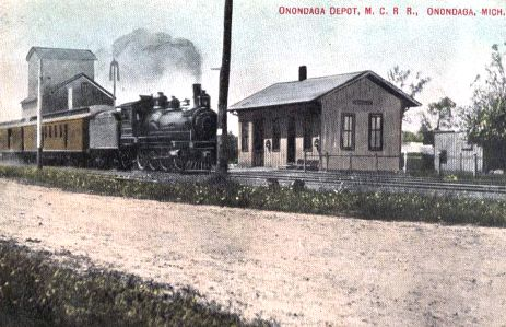 MC Train at Onondaga MI